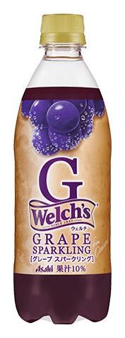 「Welch's」 G<グレープ スパークリング>