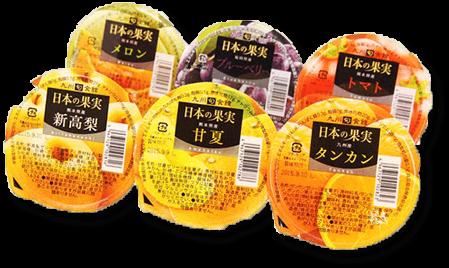 日本の果実ゼリー6種(6個)ギフトセット