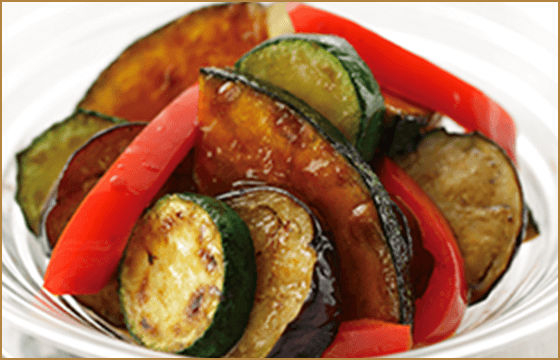 夏野菜のマリネサラダ