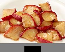 リンゴ用シーズニング調理例