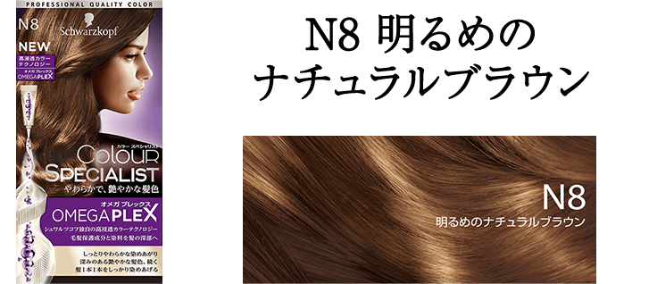 N8 明るめのナチュラルブラウン