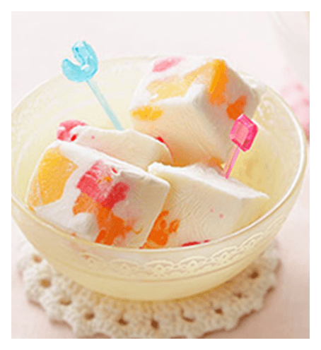 甘酒クリームチーズアイスキューブ