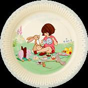 紙皿/Belle&Boo Ver2