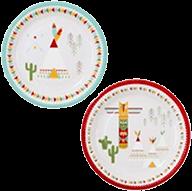 紙皿/インディアン