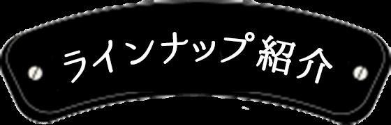 ラインナップ紹介
