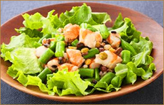 えびといんげんのグレインズサラダ
