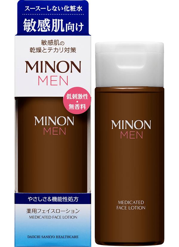 ミノン メン 薬用フェイスローション(販売名:ミノンメンL)