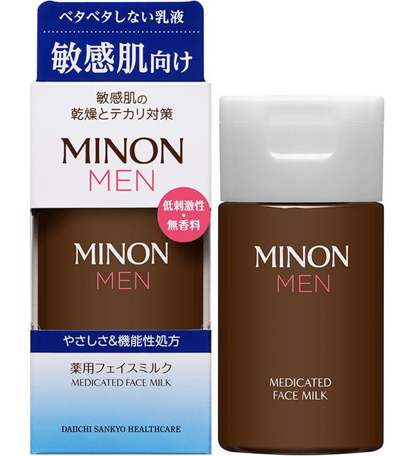 ミノン メン 薬用フェイスミルク(販売名:ミノンメンM)