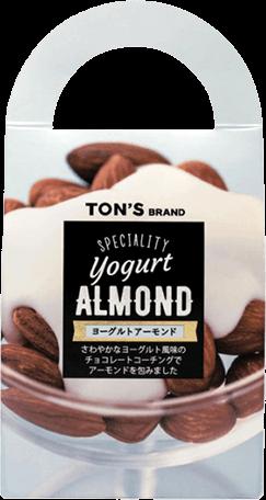 ヨーグルト アーモンド ヨーグルト風味のチョコ×素焼きアーモンド