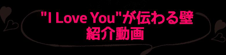 コマンド™ フックI Love Youが伝わる壁紹介動画