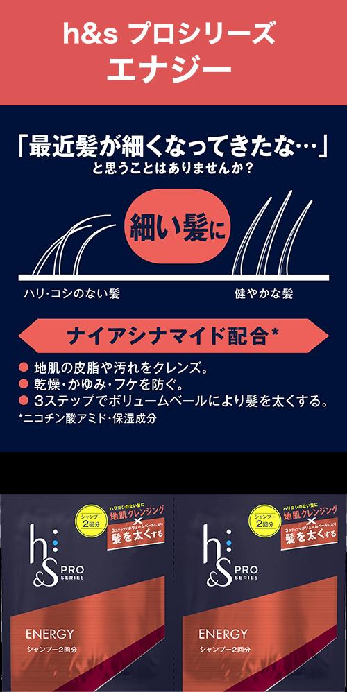 h&s プロシリーズ エナジー