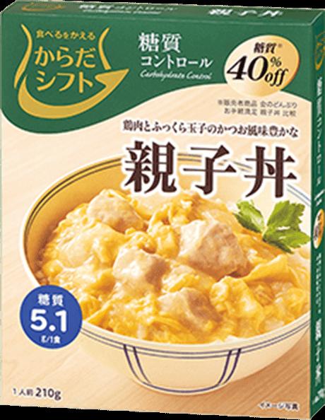 糖質コントロール 親子丼