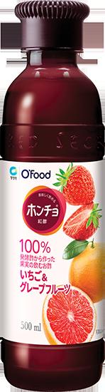 ホンチョいちご&グレープフルーツ味商品イメージ