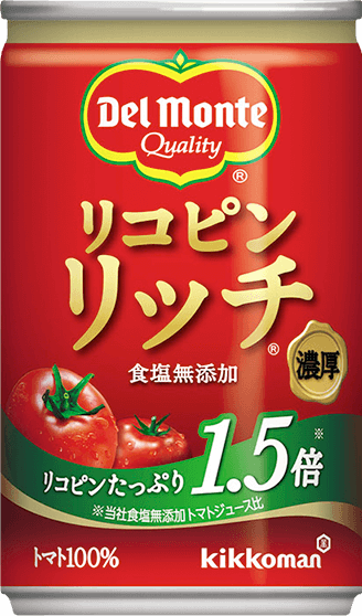 リコピンリッチトマト飲料 160g 商品イメージ