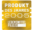 PRODUKT DES JAHRES 2005