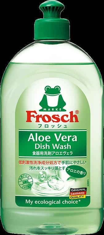 「フロッシュ® 食器用洗剤〈アロエヴェラ〉」イメージ