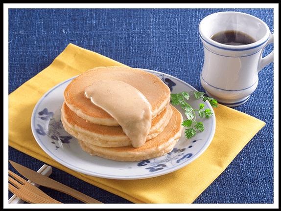 きなこのわふーちぇパンケーキ イメージ