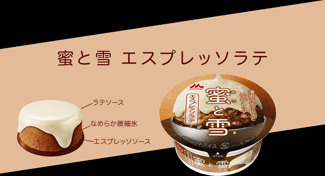 蜜と雪 エスプレッソラテ