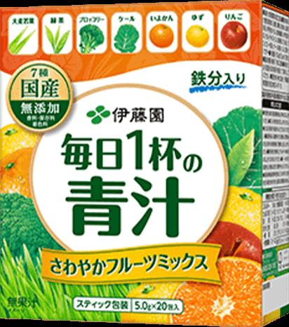 毎日1杯の青汁 爽やかフルーツミックス 商品イメージ