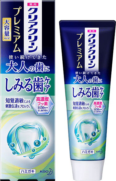 クリアクリーン プレミアム しみる歯のケア(薬用ハミガキ)商品イメージ