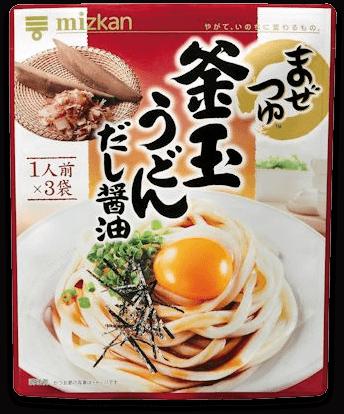 「釜玉うどんだし醤油」商品イメージ