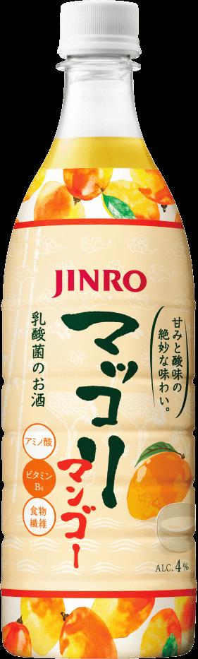 JINRO マッコリ マンゴー 商品イメージ