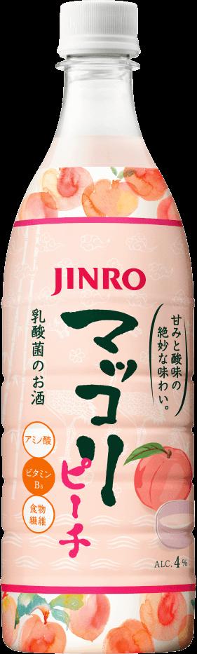 JINRO マッコリ ピーチ 商品イメージ