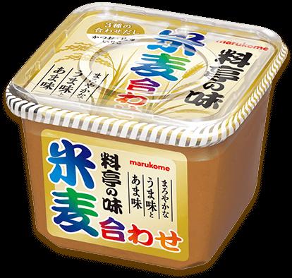 「料亭の味 米麦合わせ だし入り」商品イメージ