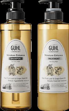 乾燥しやすい髪に!Moisture Enhance商品イメージ