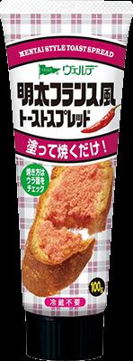 「明太フランス風トーストスプレッド」商品イメージ