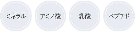 ミネラル/アミノ酸/乳酸/ペプチド