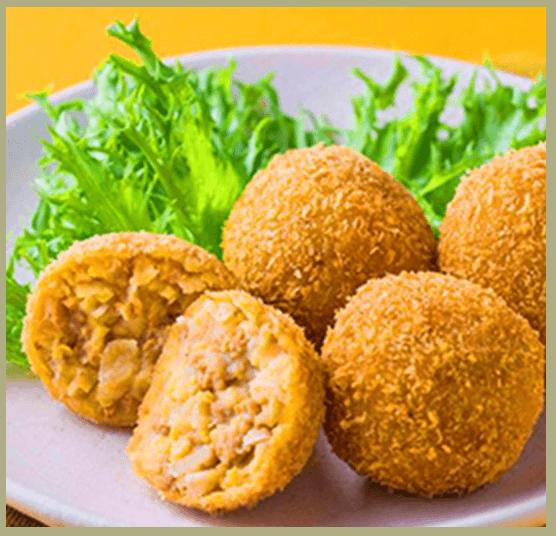 大豆のお肉とひよこ豆のベジコロッケ イメージ画像