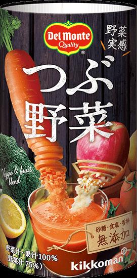 「デルモンテ つぶ野菜 125mlカートカン」商品画像