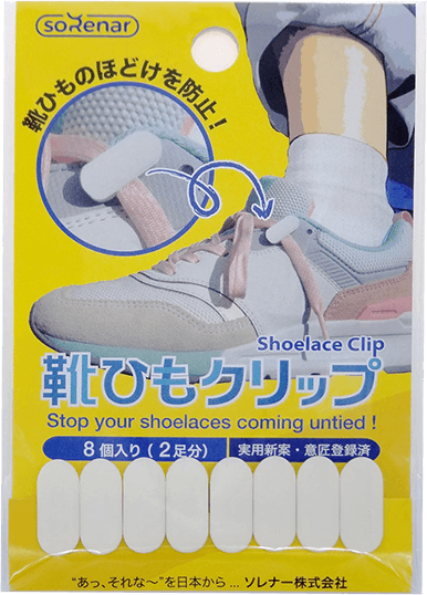 靴ひもクリップ商品画像
