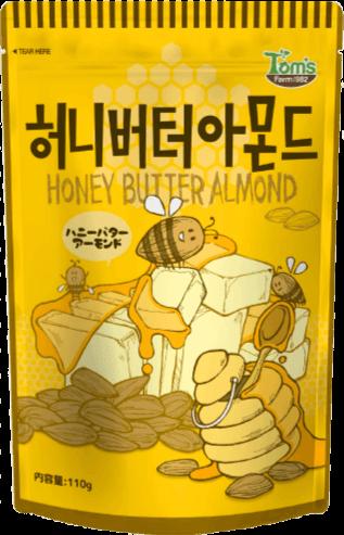 ハニーバターアーモンド 商品イメージ