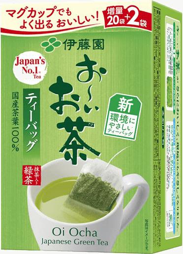 お〜いお茶 緑茶ティーバッグ 商品イメージ