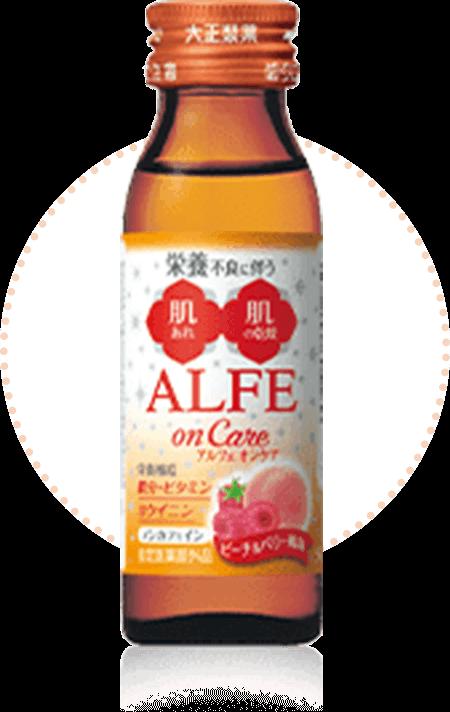 ALFE on Careピーチ&ベリー風味