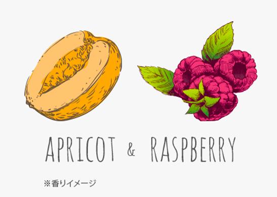 APRICOT & RASBERRY