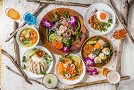 アジアン料理イメージ