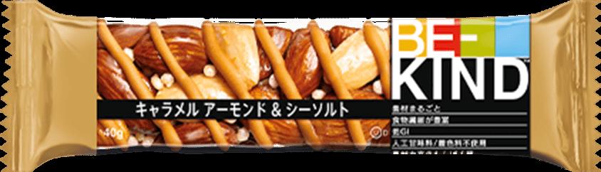 BE-KIND キャラメル アーモンド&シーソルト 商品イメージ