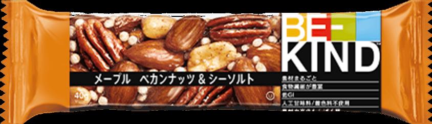 BE-KIND メープル ペカンナッツ&シーソルト 商品イメージ