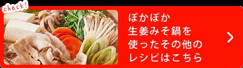 ぽかぽか 生姜みそ鍋を 使ったその他の レシピはこちら