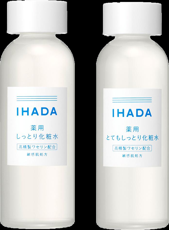 イハダ 薬用ローション(しっとり・とてもしっとり)商品イメージ