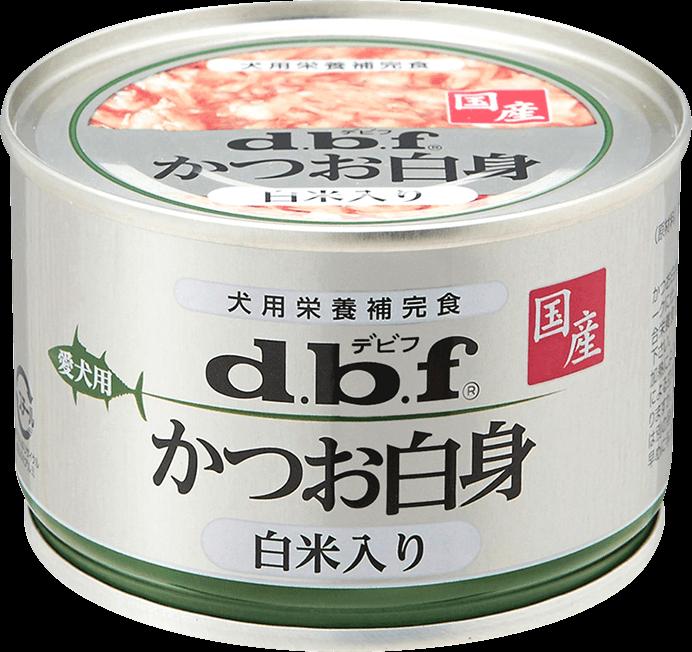 「かつお白身 白米入り」商品画像