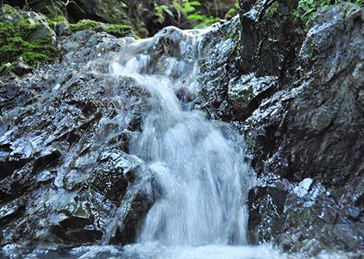 「ミネラル豊富なきれいで力強い水」イメージ画像