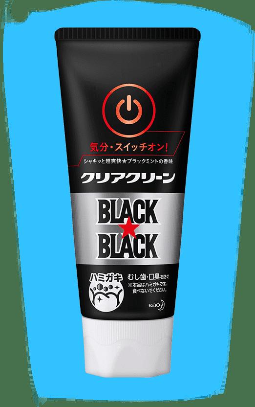 クリアクリーン ハミガキ ブラックミントの香味 イメージ画像