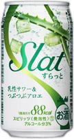 アサヒSlat 乳性サワー&つぶつぶアロエ缶 350ml