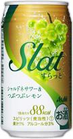 アサヒSlat シャルドネサワー&つぶつぶレモン缶 350ml