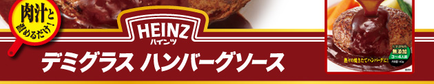 ハインツ デミグラス ハンバーグソース