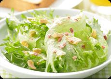 フリルレタスの彩りサラダ